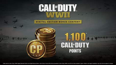 Call of Duty Points confirmed for WWII, pre-order to get