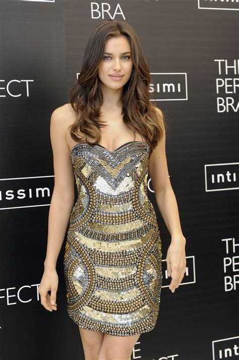 IRINA SHAYK at The Perfect Bra by Intimissimi Promotion in