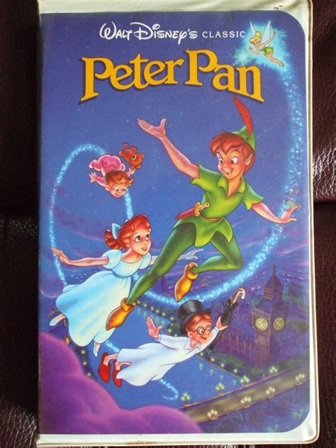 Peter Pan (1990, US Retail Tape) | VHS and DVD Covers