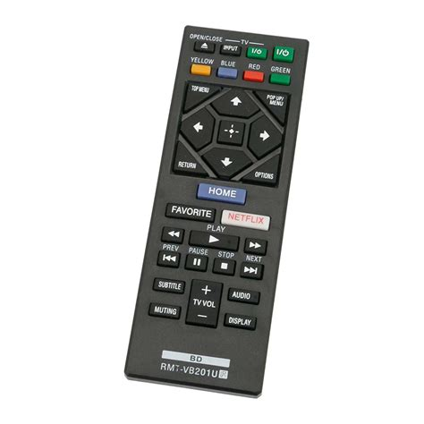 New RMT-VB201U Replaced Remote for Sony Blu-ray BDP-S3700