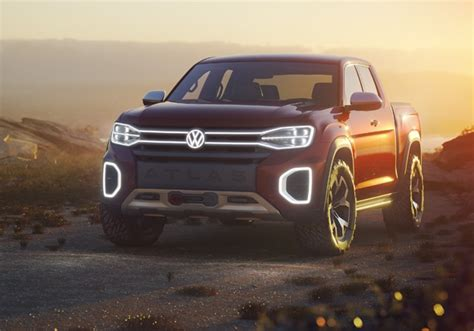 VW's new bakkie - awesome Atlas Tanoak concept revealed at