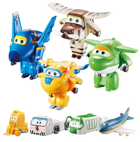 Super Wings World Airport Flight Crew B, Jerome, Donnie