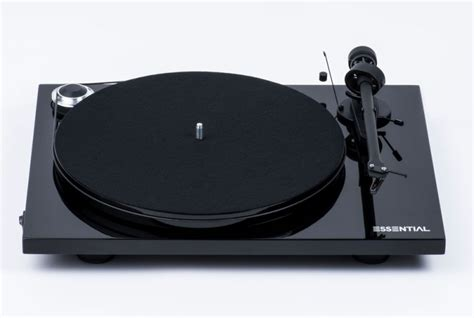ProJect Audio Essential III Bluetooth Turntable - Quality