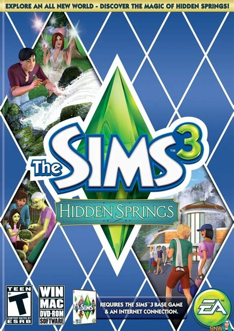 The Sims 3: Hidden Springs | SNW | SimsNetwork