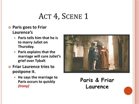Romeo and Juliet Act 4 Summary Notes