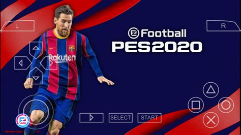 PES 2020 PPSSPP Android Offline Camera PS4 Latest